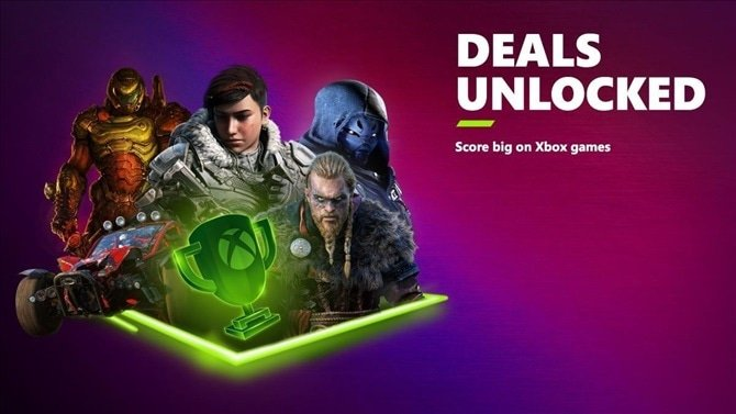 Xbox Deals Unlocked 2021 sale is now live, offering discounts on over 500 games
