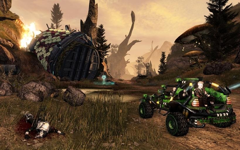 Arkbreaker DLC screen 1