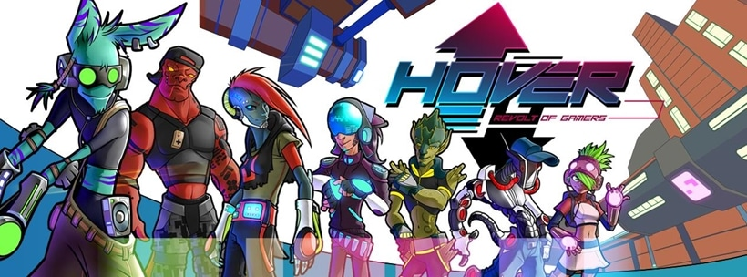 Hover Title Page