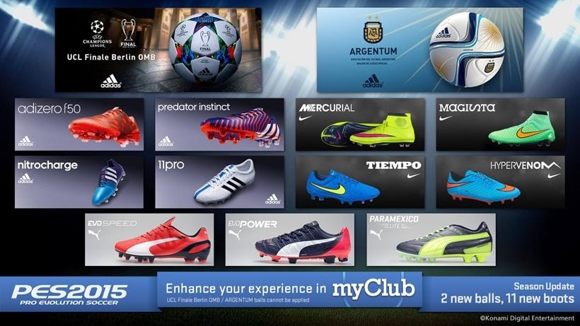 New Boots & New Balls