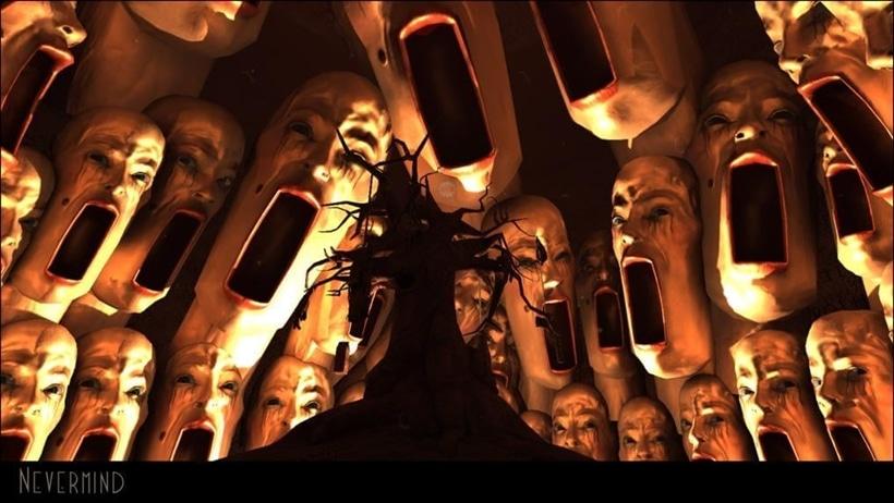 Screenshot from Nevermind