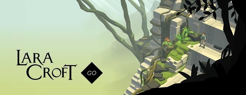 Lara Croft GO Key Art
