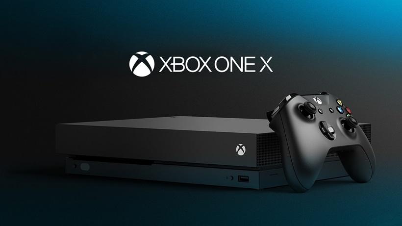 Xbox One X Carousel