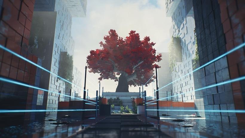 Q.U.B.E 2 screenshot