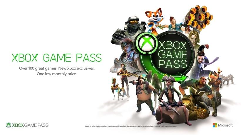 Xbox Game Pass 2018