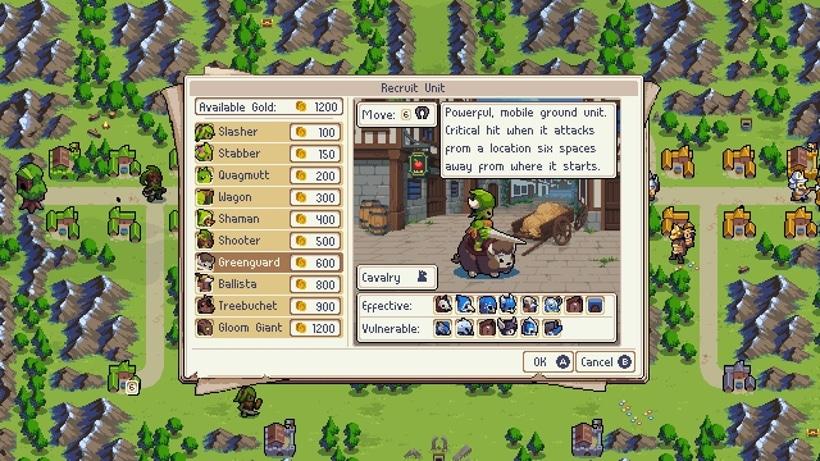 Wargroove screen 1