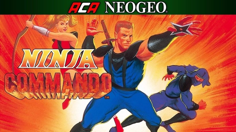 ACA NEOGEO NINJA COMMANDO ~ TitledHeroArt