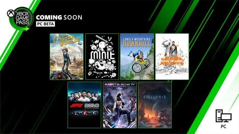 Game Pass for PC Games October