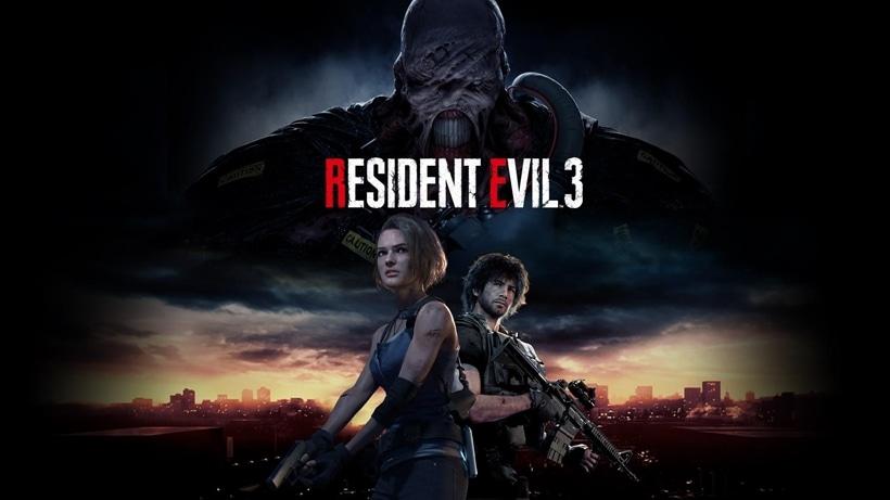 RESIDENT EVIL 3 ~ TitledHeroArt