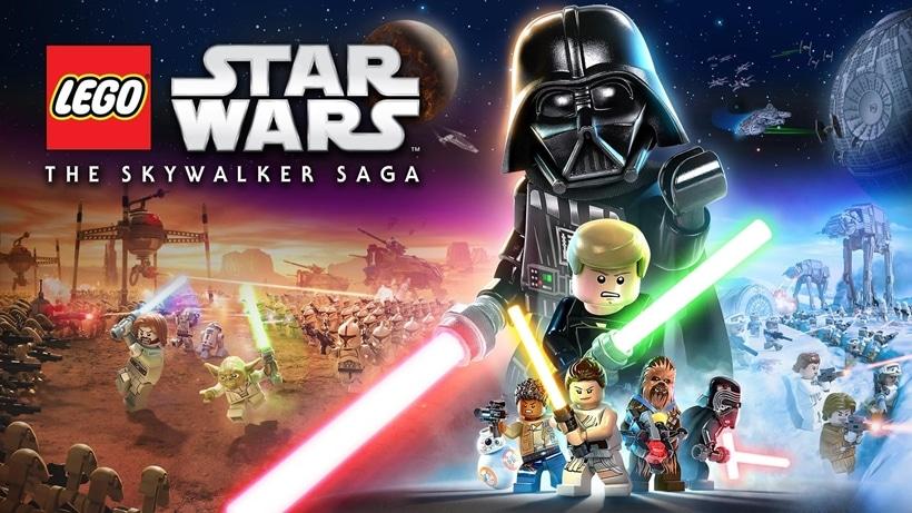 LEGO Star Wars: The Skywalker Saga ~ TitledHeroArt