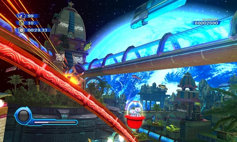 Sonic Colors Remastered appears on two different websites