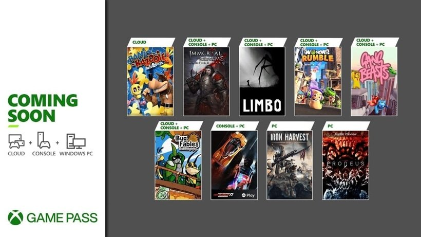 Xbox Game Pass coming soon in June July