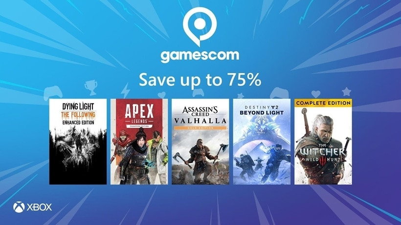 Xbox Gamescom sale
