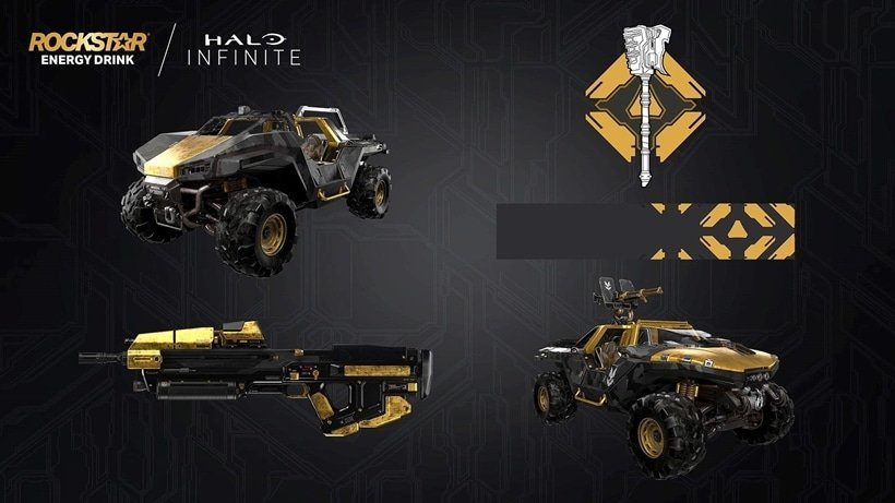 Halo Infinite-themed Rockstar Energy cans offer prizes including custom Jeep Gladiator