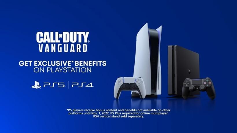 Call of Duty: Vanguard exclusive PS4 PS5 content