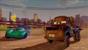 New Screenshots for Cars 2: The Video Game
