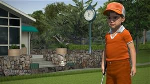 Tiger Woods 13 Tees Off a Launch Trailer