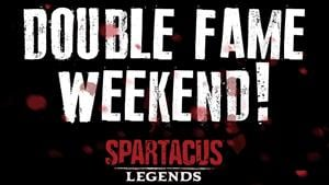 Earn Double Fame in Spartacus Legends This Weekend