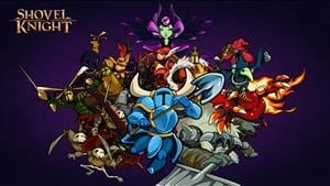 2D Modern Classic Shovel Knight Was Created in 3D