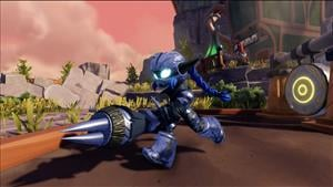 Skylanders SuperChargers Multiplayer Racing Video