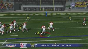 Canadian Football 2017 New Passing System Added