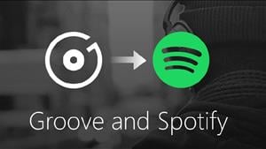 Microsoft Gives Up on Groove and Embraces Spotify
