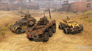 Crossout's Update Brings Improved AI and New Content