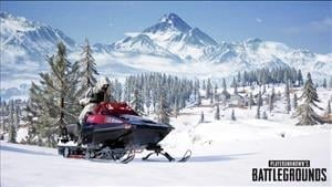 PUBG Teases New Snowbike Vehicle for Vikendi