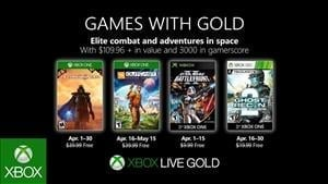Games with Gold Titles Confirmed for April 2019
