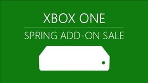 Xbox One Spring Add-On Sale 2019