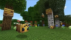 Buzzy Bees Achievements Revealed for Minecraft