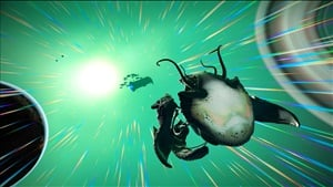No Man's Sky Living Ship Update adds new class of biological ship you can grow from an egg