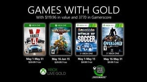 May's Games With Gold include Overlord II and V-Rally 4