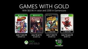 Xbox Games with Gold for June revealed, with 2200 Gamerscore up for grabs