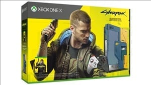 Pre-order the Cyberpunk 2077 Xbox One X limited edition bundle here for only $299 or £259