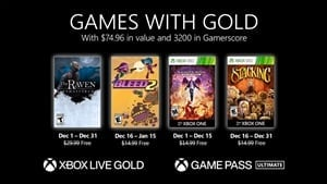 Xbox Games with Gold for December revealed, with 3,200 Gamerscore up for grabs