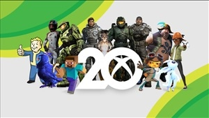 Microsoft celebrates 20 years of Xbox with new Xbox merch, free wallpapers, and more