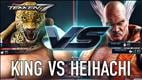 Tekken 7 Gameplay: King vs. Heihachi