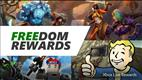 New FREEdom Rewards for a Limited Time on Free to Play Games