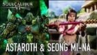 Astaroth and Seong Mi-Na Return in SOULCALIBUR VI