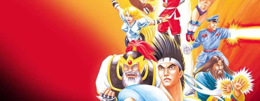 ACA NEOGEO WORLD HEROES