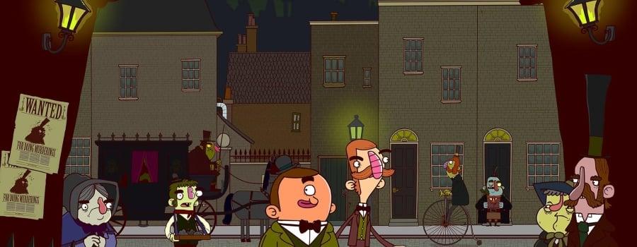 Adventures of Bertram Fiddle 1: A Dreadly Business