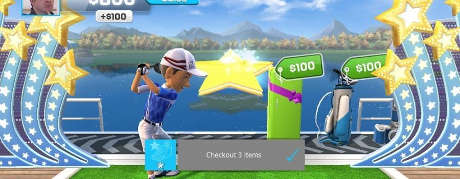 Kinect Sports Gems: Prize Driver