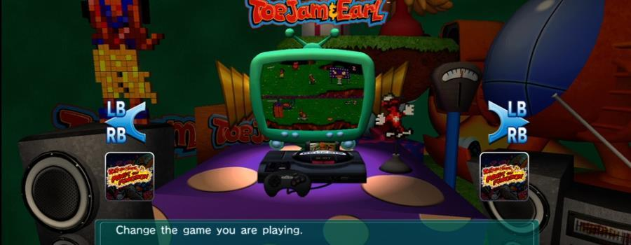 SEGA Vintage Collection: ToeJam & Earl