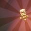Tank truck insignia 'Tiltin North'