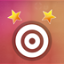 Complete all levels with at least 2 stars