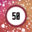 Splatter 50 times